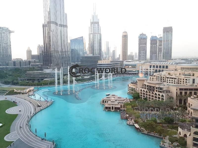 13 3 BR+Maids|Fully Furnished|Burj Khalifa & Fountain View