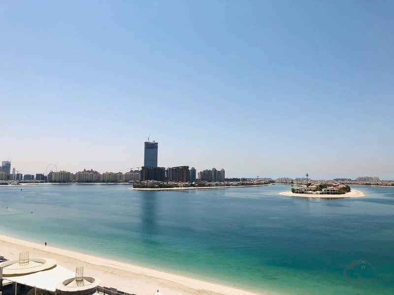 2 One Bedroom with stunning unmatched sea and marina view for 85k in Royal Bay Palm Jumeirah