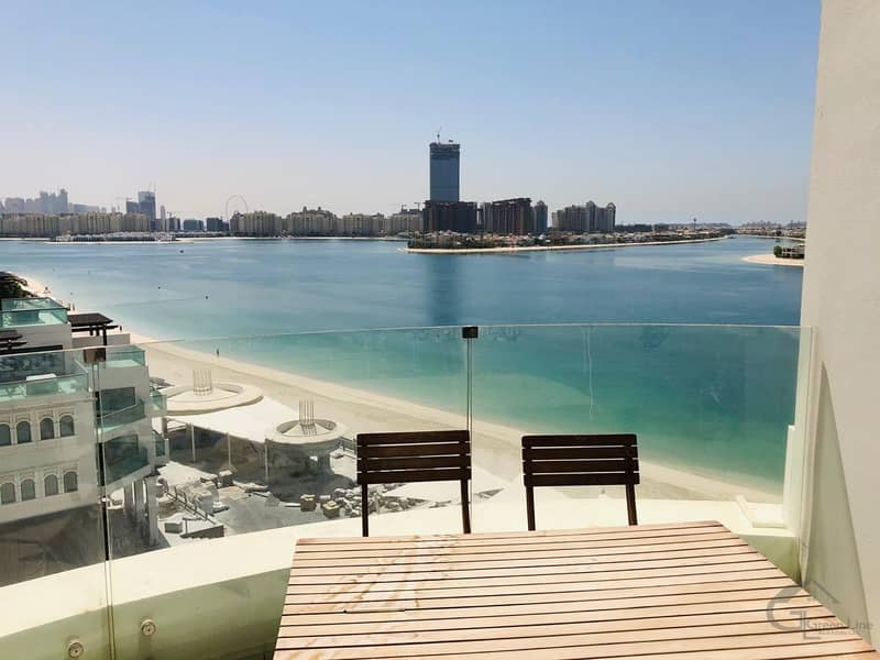 25 One Bedroom with stunning unmatched sea and marina view for 85k in Royal Bay Palm Jumeirah