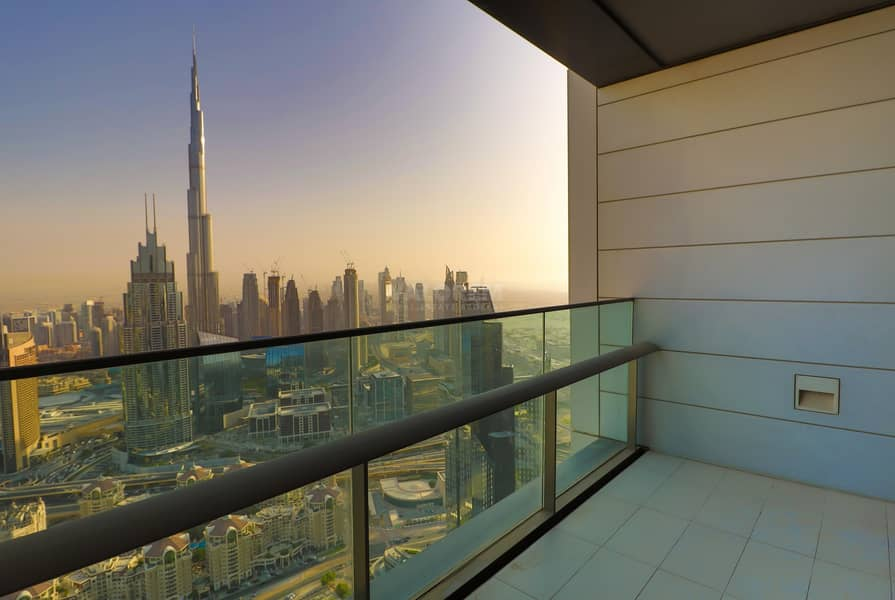 16 High Quality Finish I Well Maintain I Full Burj View