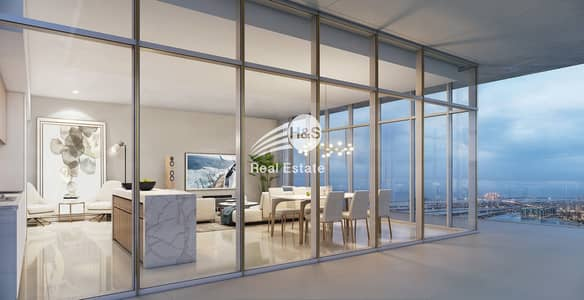 فلیٹ 3 غرف نوم للبيع في دبي هاربور، دبي - Waterfront Community I Flexible Payment Plan I Sea View
