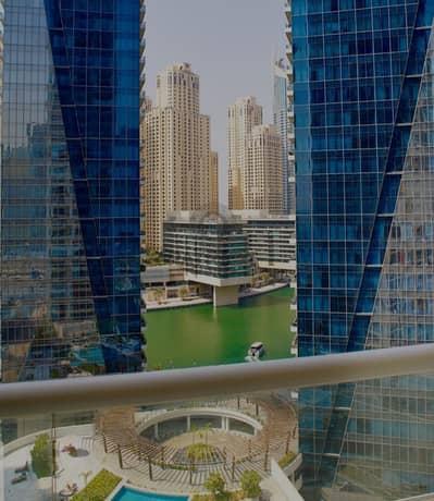 شقة 2 غرفة نوم للبيع في دبي مارينا، دبي - 2 BR | Low Floor | Partial Marina View | 1.35M
