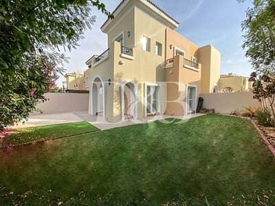 فیلا 4 غرف نوم للايجار في المرابع العربية، دبي - Vacant | Maids Room| Unfurnished | Garden