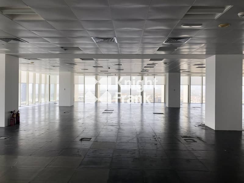 2 Cat A Office Space for Lease | Capital Centre District Abu Dhabi