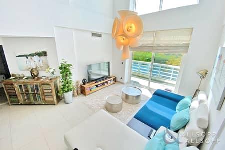 شقة 2 غرفة نوم للبيع في تلال الجميرا، دبي - Convered 3 Bed | Full Lake View | Vacant