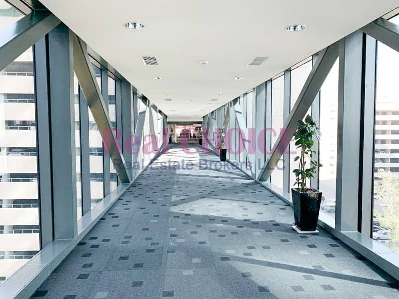 10 Fully Fitted Office|Low  floor|Sheikh Zayed Road