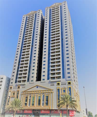 2 Bedroom Flat for Rent in Al Wahda Street, Sharjah - 1 YEAR FREE PARKING | CHEAPEST 2 Bedrooms with Balcony at Best Location of Al Wahda Street| Direct from Owner