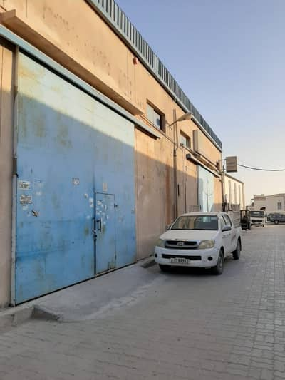 Warehouse for Rent in New Industrial City, Ajman - Spacious Road facing! Warehouse With Electricity for rent in Saniaya, Ajman