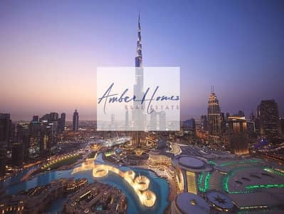 3 Bedroom Apartment for Rent in Downtown Dubai, Dubai - Luxury 3BR+Maid+Store |All Inclusive| Fountain view