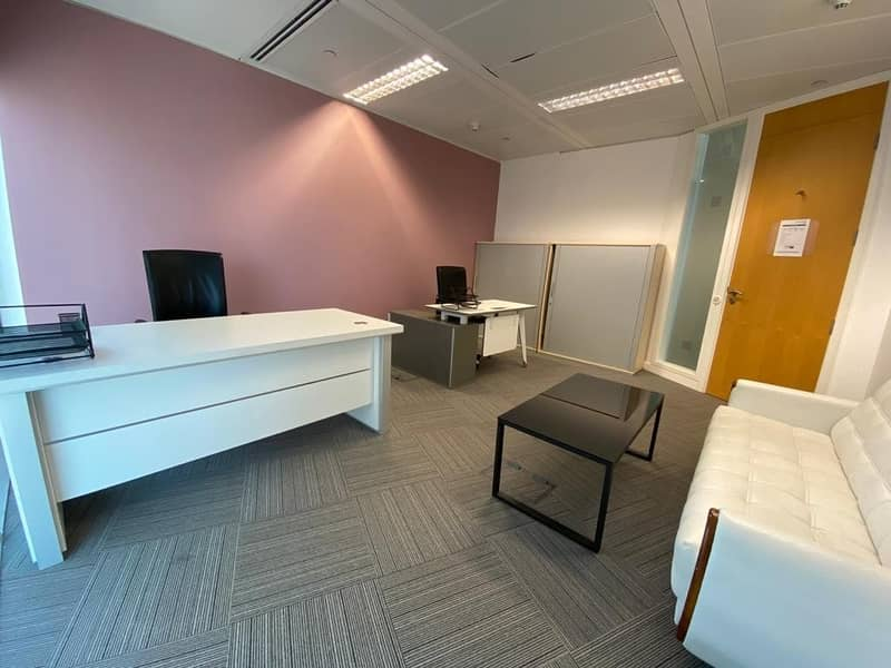 2 Best for 4! Luxury Office With High View In Burjuman Business Center
