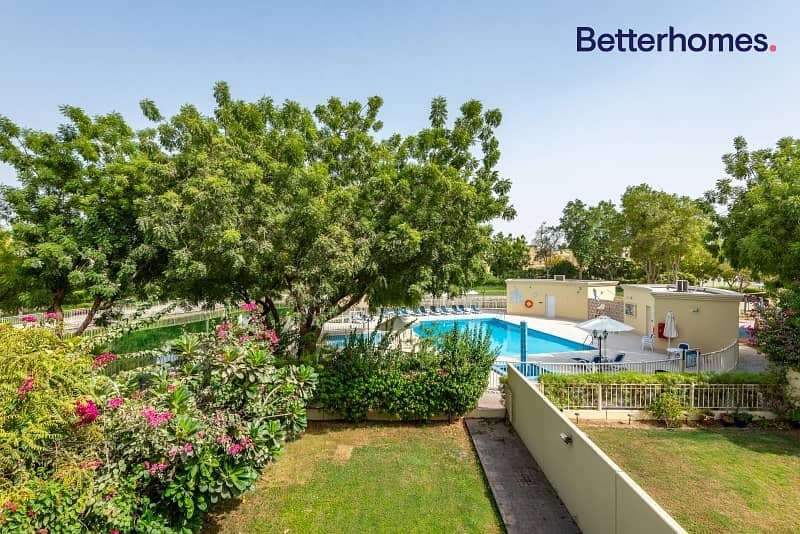 2M | Well Maintained| Rented | Backing Park & Pool