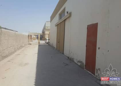Warehouse for Rent in Ajman Industrial, Ajman - 1600 Sq Ft  Warehouse  For Rent in New Industrial Area, Ajman
