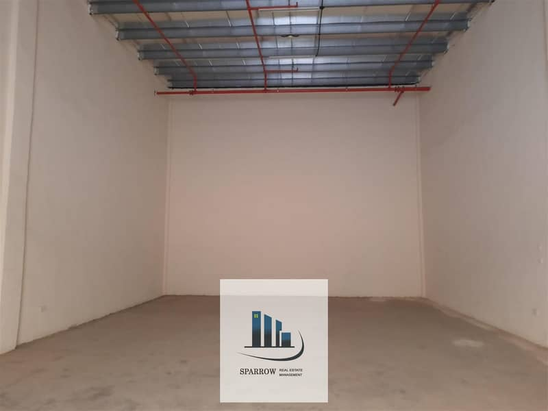 2 100 to 120 sqm  covered  store for rent