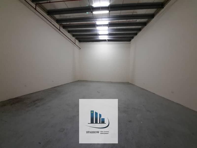 8 100 to 120 sqm  covered  store for rent