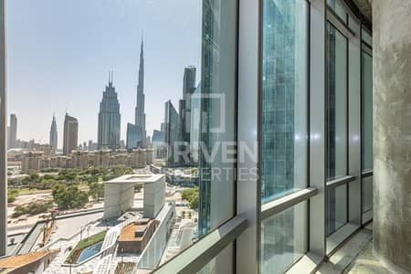 Office for Rent in DIFC, Dubai - Shell and Core with Full View of Burj Khalifa