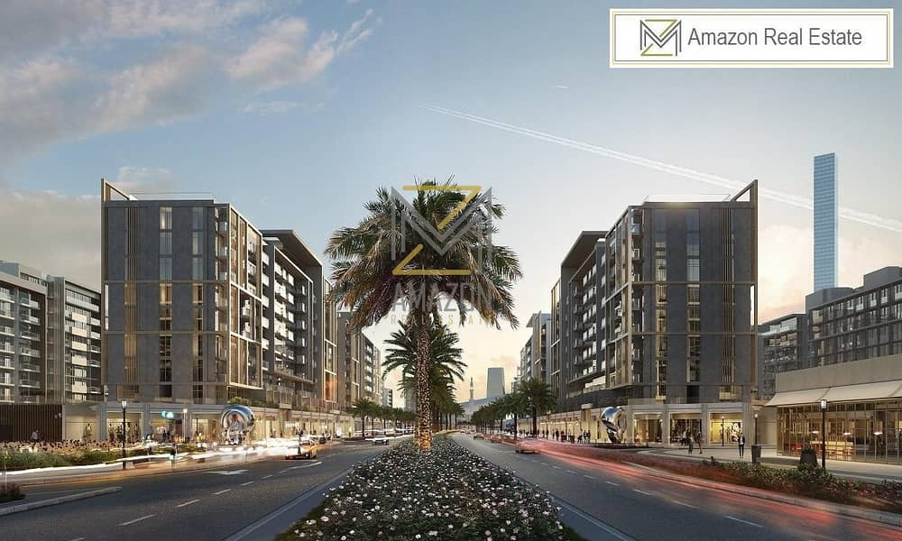 2 High Return of Interest / Brand New Shops / Spacious and Serene Area - Azizi Shops