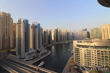 2 Bedroom Apartment for Rent in Dubai Marina, Dubai - Full Marina Views   2 Beds   Unfurnished