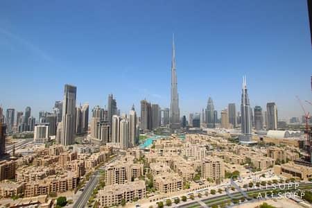 فلیٹ 2 غرفة نوم للايجار في وسط مدينة دبي، دبي - Vacant November   High Floor   2 Bedroom