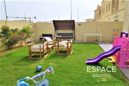 2 Bedroom Villa for Sale in The Springs, Dubai - Type 4E Opposite Park and Pool Springs 5