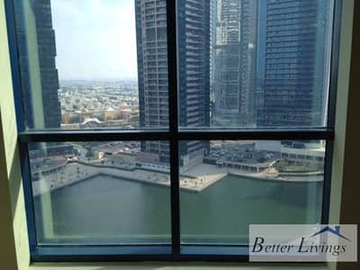 شقة 1 غرفة نوم للايجار في أبراج بحيرات الجميرا، دبي - Chiller Included Duplex with Sunset Lake View