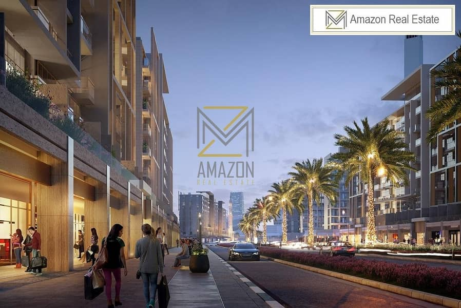 10 Canal and Harbour Views / HIGH ROI / Amazing and Serene Area - Azizi Shops