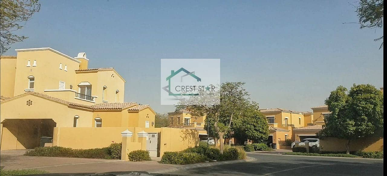 Affordable 3 Bedrooms Villa in Arabian Ranches