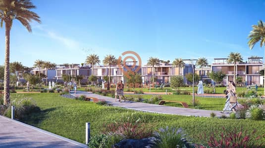 3 Bedroom Villa for Sale in Dubai Hills Estate, Dubai - Contemporary Semi-detached 3 BD | Pool & Park view