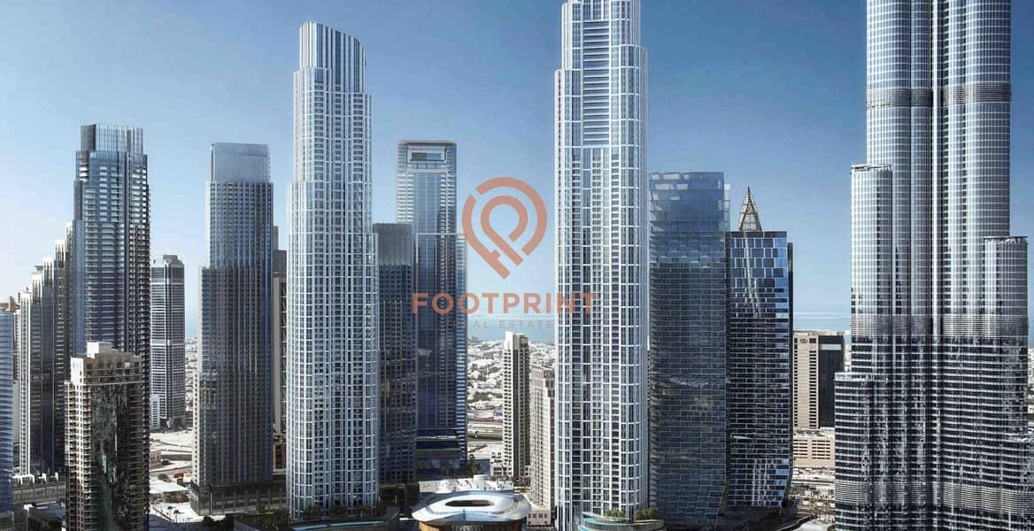 2 5BR Full Floor Penthouse  Right Adjacent to Burj Khalifa