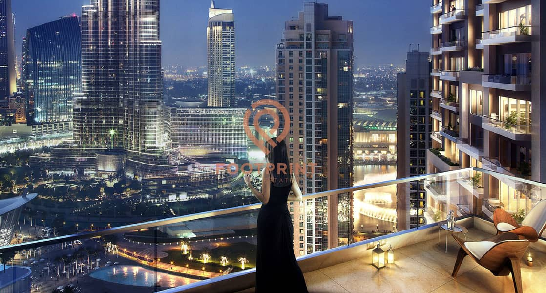 11 4 BED Penthouse | Private Terrace | Massive Layout | Burj and Fountain View