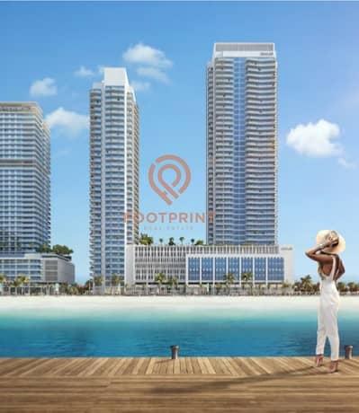 شقة 2 غرفة نوم للبيع في دبي هاربور، دبي - Exclusive Beachfront Podium Apartment - LAST ONE UP FOR GRABS