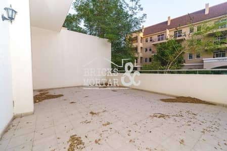 1 Bedroom Flat for Rent in Motor City, Dubai - Ground Floor | Large Terrace | Garden View