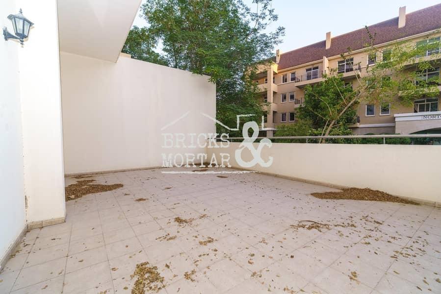 2 Ground Floor | Large Terrace | Garden View