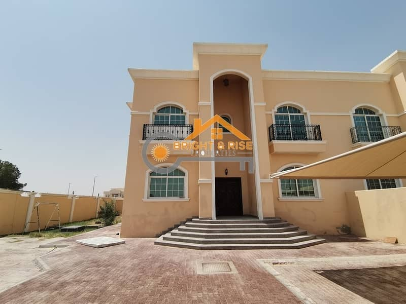 Private 5 Master B/R Villa with Huge Yard @ MBZ City