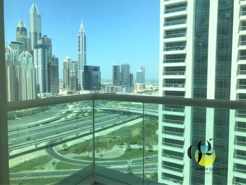 Spacious/Well Maintained 2BR on high floor with Amazing View