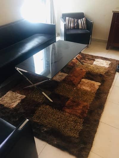 فلیٹ 1 غرفة نوم للايجار في الخليج التجاري، دبي - Living Room