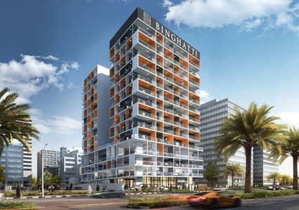 فلیٹ 1 غرفة نوم للبيع في واحة دبي للسيليكون، دبي - شقه غرفه وصاله بالسليكون استلام ادفع 200 الف درهم بالتقسيط خلال 6 اشهر والباقي بالتقسيط الشهري