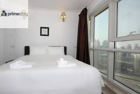 شقة 1 غرفة نوم للايجار في أبراج بحيرات الجميرا، دبي - Cozy 1BR Fully Furnished Near Metro JLT