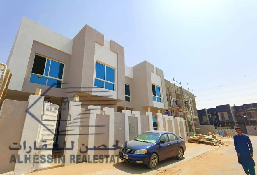Villa for sale at the price of a freehold snapshot for all nationalities and bank installments 25 years