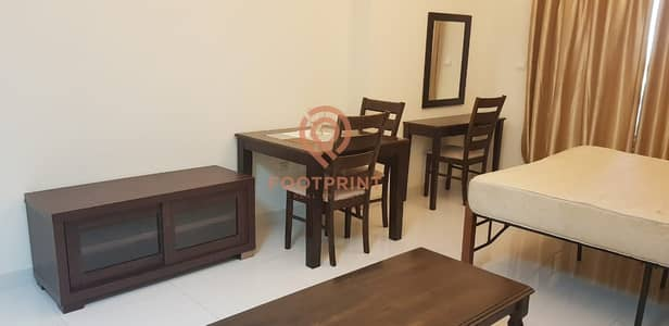 Studio for Rent in Dubai Sports City, Dubai - Full Furnished Studio with Parking Only @20K