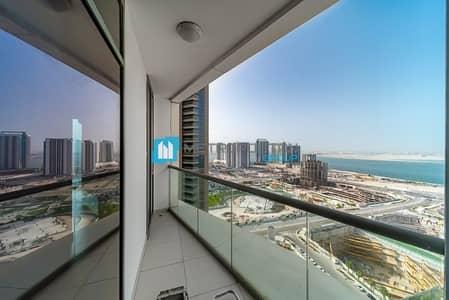 فلیٹ 1 غرفة نوم للايجار في جزيرة الريم، أبوظبي - High floor sea view