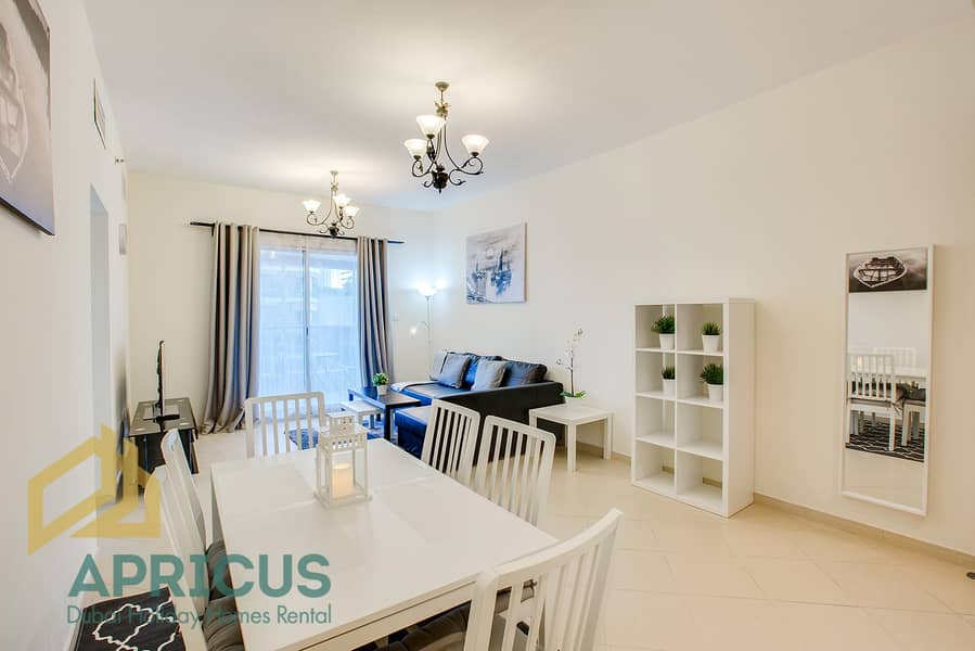 Bills Included | Near Metro 2BD Apartment in Dubai Marina