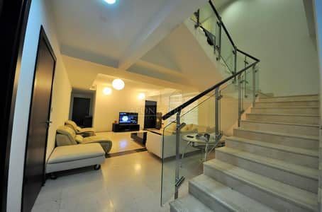 4 Bedroom Apartment for Sale in Jumeirah Beach Residence (JBR), Dubai - Duplex Apartment Fully Furnished  4Bed plus MAids