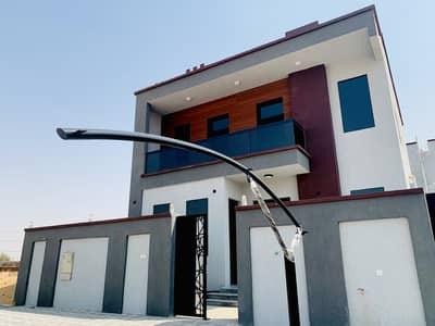 4 Bedroom Villa for Sale in Al Yasmeen, Ajman - European design villa, asphalt road, great location