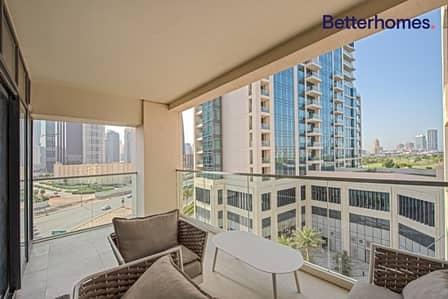 فلیٹ 2 غرفة نوم للايجار في التلال، دبي - Fully Furnished | Low Floor | Best Location