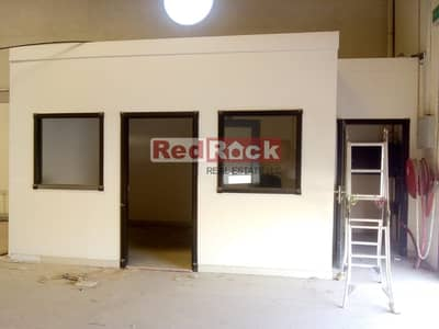 Warehouse for Rent in Dubai Investment Park (DIP), Dubai - 3520 Sqft Warehouse with 3 Office Cabins @ AED 22/sqft in DIP