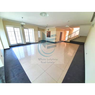 4 Bedroom Villa for Rent in Mirdif, Dubai - **DEAL**LARGE CORNER PRIVATE 4 BR-ALL MASTER-1 ROOM DOWN-MAID-POOL-GYM-SAUNA-FAR FROM FLIGHT PATH