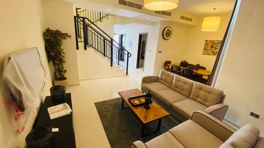 3 Bedroom Villa for Rent in Akoya Oxygen, Dubai - NEVER USED 3 BED FULLY FURNISHED