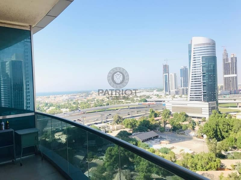 Furnished Studio Chiller Free Next  Metro with balcony