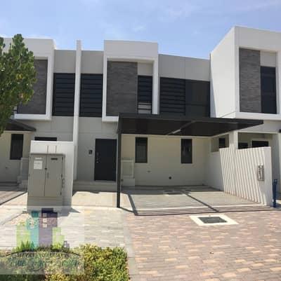 تاون هاوس 3 غرف نوم للايجار في أكويا أكسجين، دبي - MIDDLE UNIT BIG SIZE 3BED+M AKOYA OXYGEN