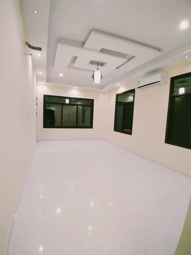 A clean second inhabitant villa, excellent location in Al Mowaihat, near Sheikh Mohammed Bin Zayed Road